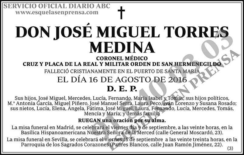 José Miguel Torres Medina